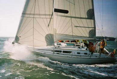 Racing in the Solent